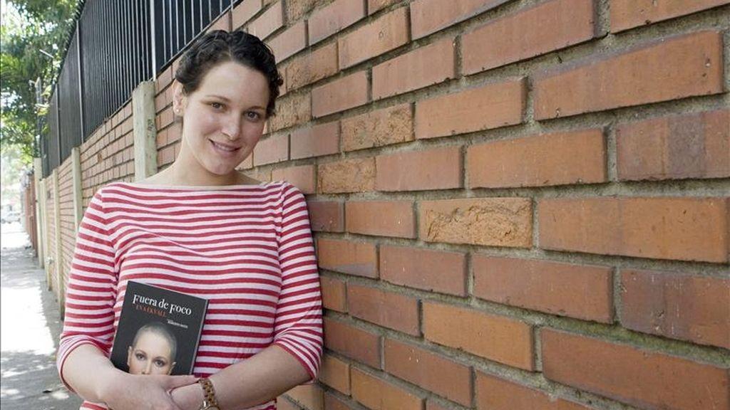 Fotografía de este 6 de abril de 2011 de Eva Ekvall, Miss Venezuela en el 2000, en Caracas, Venezuela. EFE