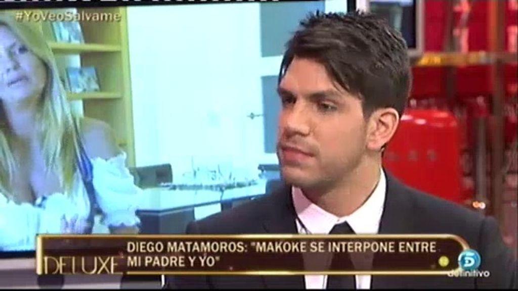 """Diego Matamoros: """"He perdido a mi padre. Espero que con el tiempo se arregle"""""""