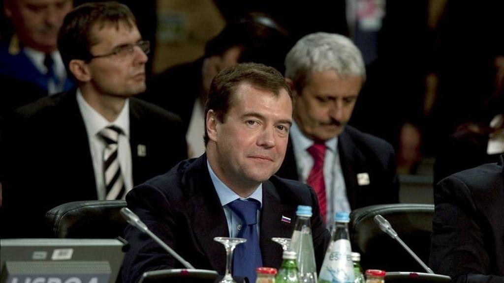 El presidente ruso, Dmitry Medvedev. EFE/Archivo