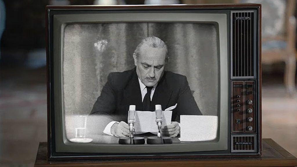 """Arias Navarro lo anuncia en televisión: """"Españoles, Franco ha muerto"""""""