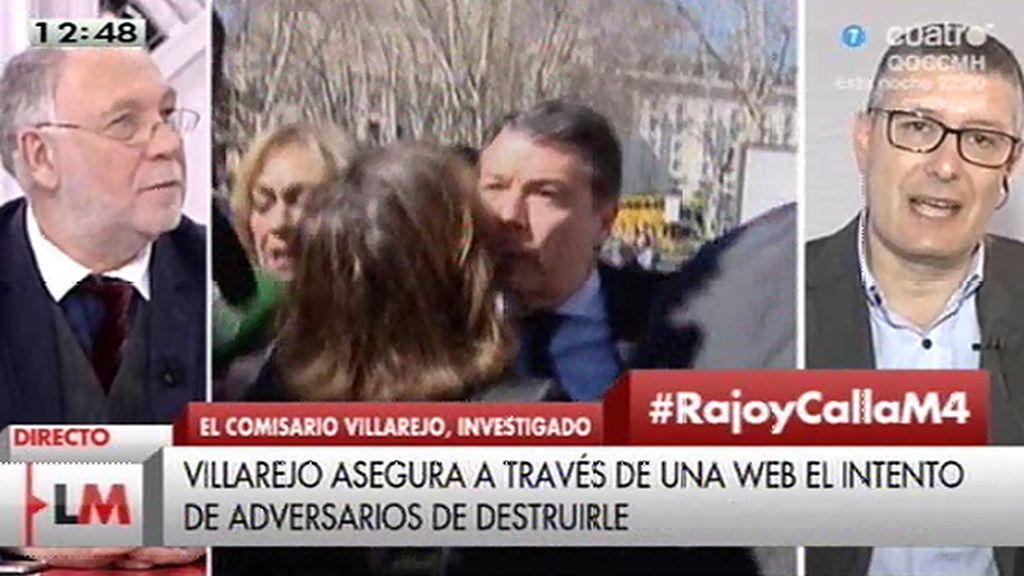 """José Mª Benito, sobre el ático de González: """"En una guerra política se ha involucrado una vez más a la policía"""""""