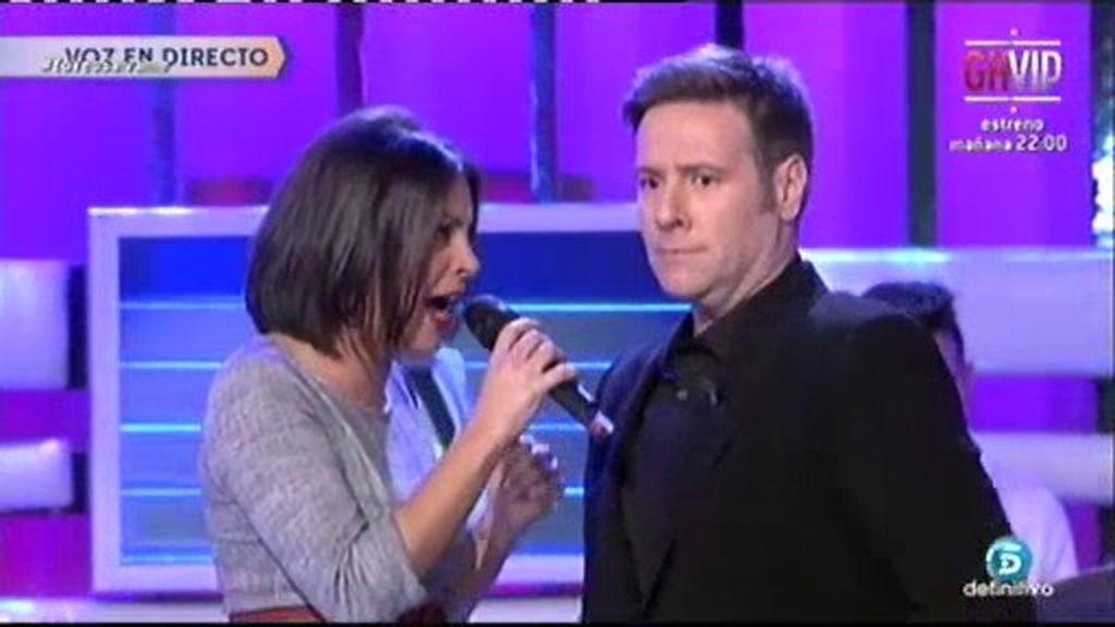 El Fari, Serrat, Lola Flores: Carlos Latre canta junto a los 'Supersingles'
