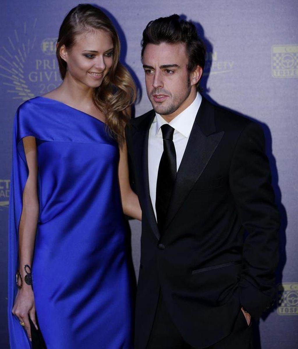 Fernando Alonso, en buena compañía en la Gala de la FIA