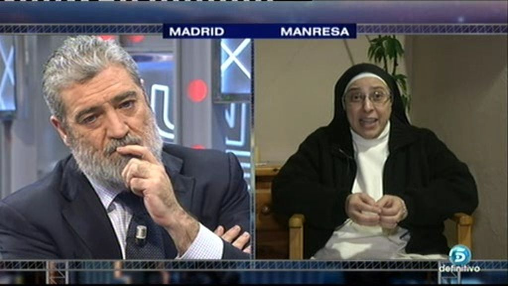 "Sor Lucía, a M. Ángel: ""Estamos recogiendo los cadáveres que habéis sembrado"""