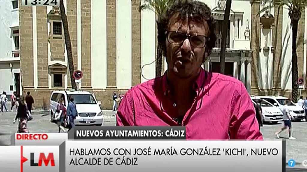 """Kichi: """"Guillermo Zapata ha pedido disculpas, que es mucho más de lo que hacen muchos representantes políticos"""""""