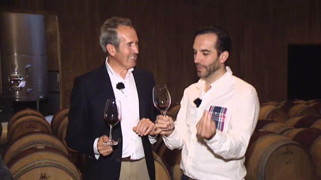 Mario Sandoval recorre las viñas de La Rioja