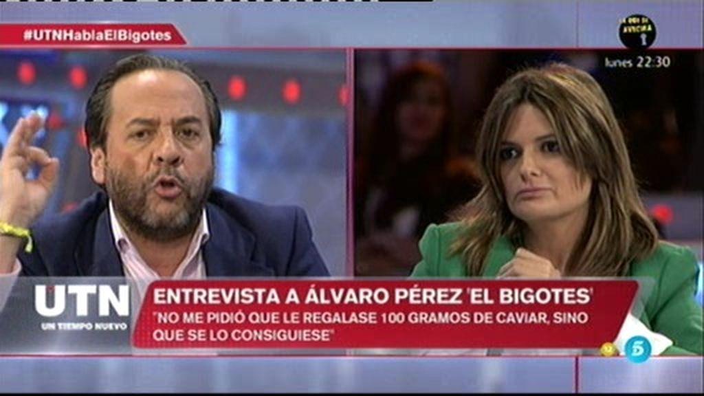 """'El Bigotes' sobre R.Costa: """"No me pidió que le regalase caviar, sino que lo consiguiese"""""""