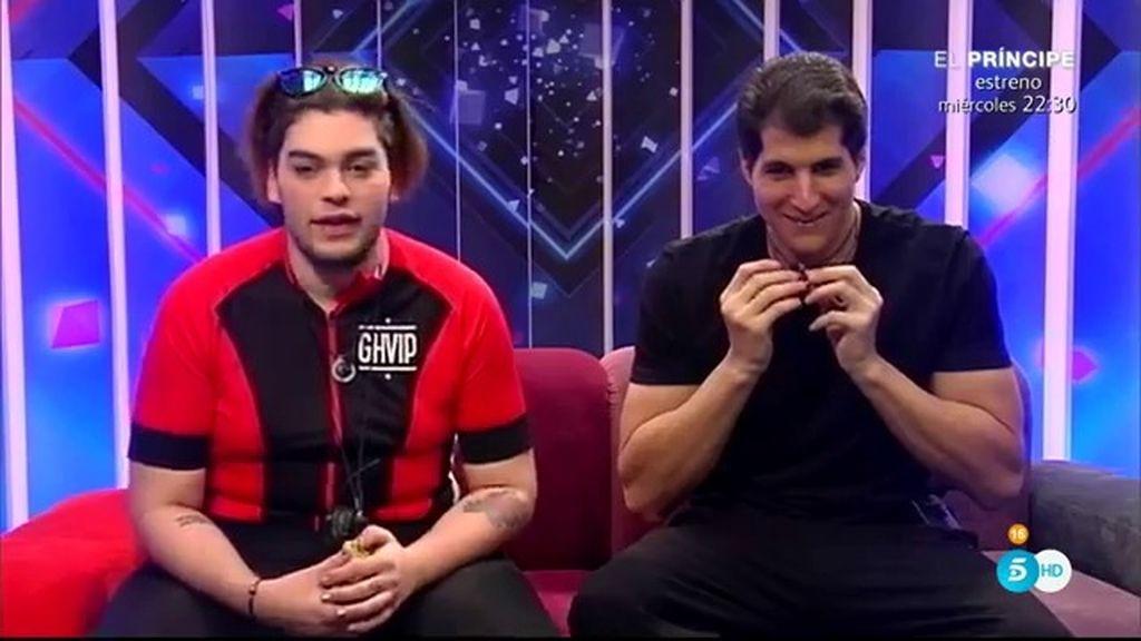 ¡Así ha sido la primera hora sin cámaras en 'GH VIP' entre Julián y Sema!