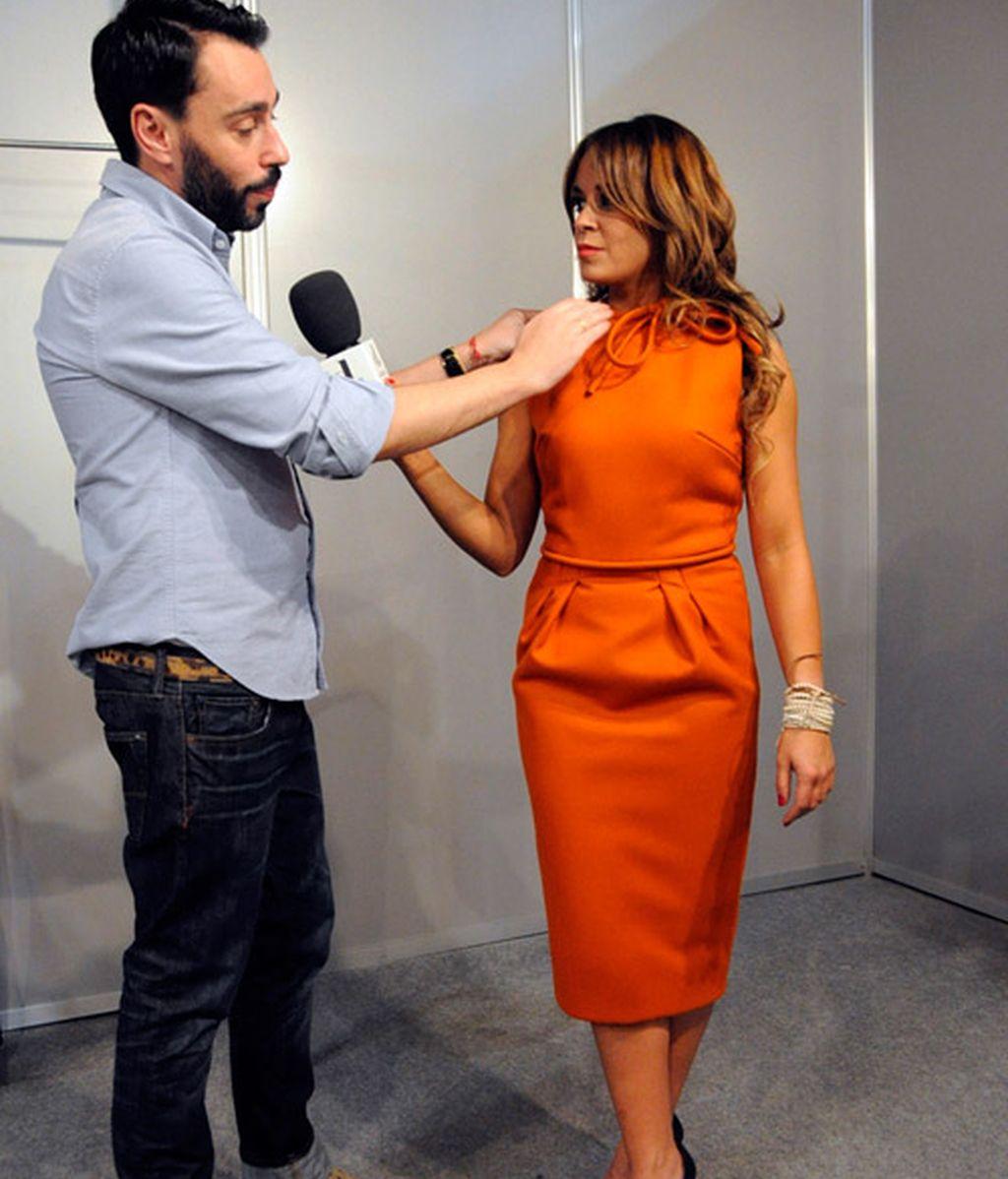Así diseñó Juanjo Oliva su vestido para Mad Men
