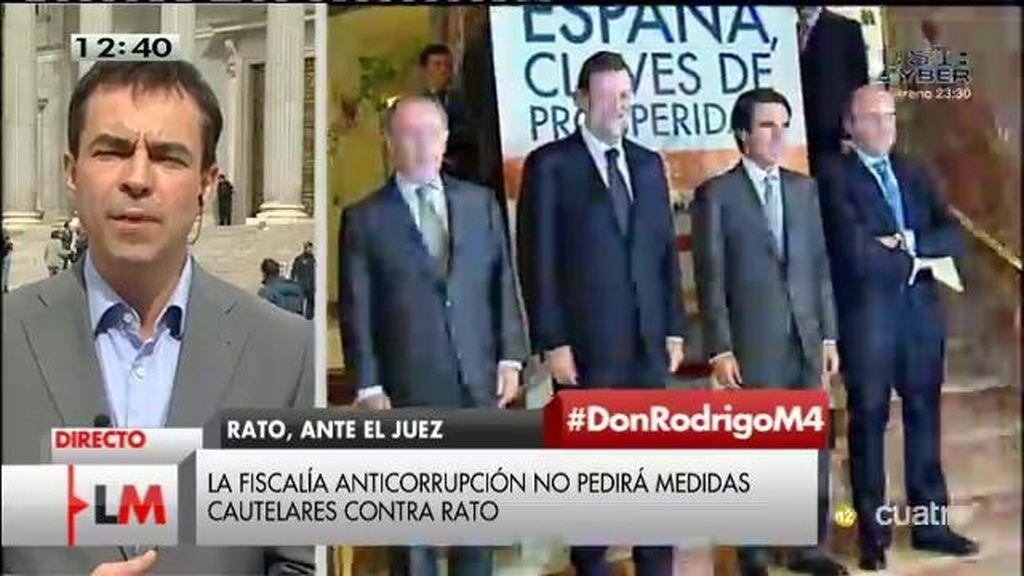 """Andrés Herzog, de UPyD: """"Cuando Rato hable se acabó el Partido Popular y todas sus mentiras"""""""