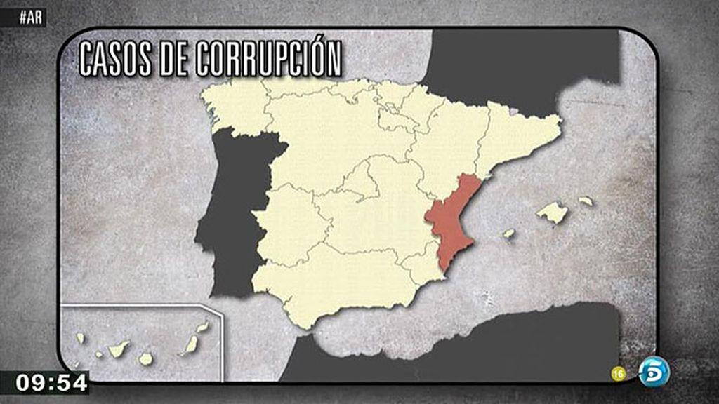 La corrupción en España: 1700 causas para 800 juzgados