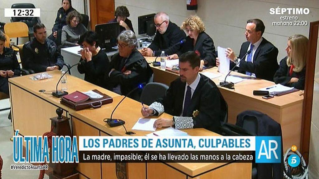 El jurado considera que Porto y Basterra acordaron un plan para matar a Asunta