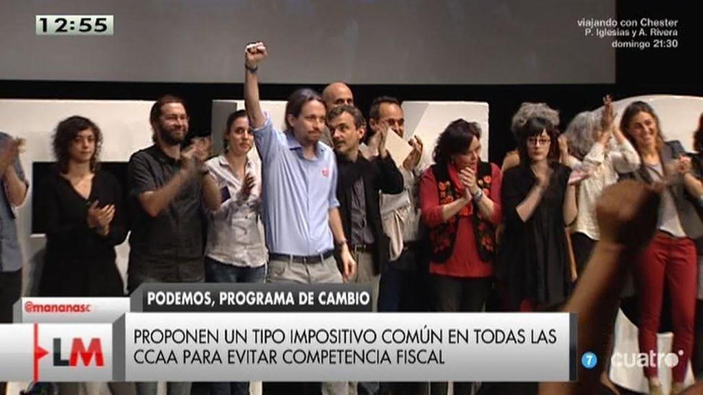 Las 215 propuestas de Podemos