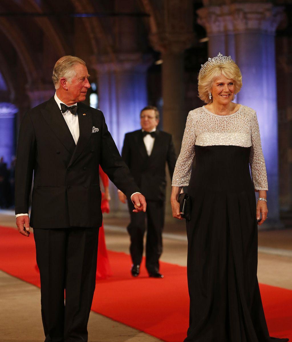 Camila de Cornualles destaca por la tiara