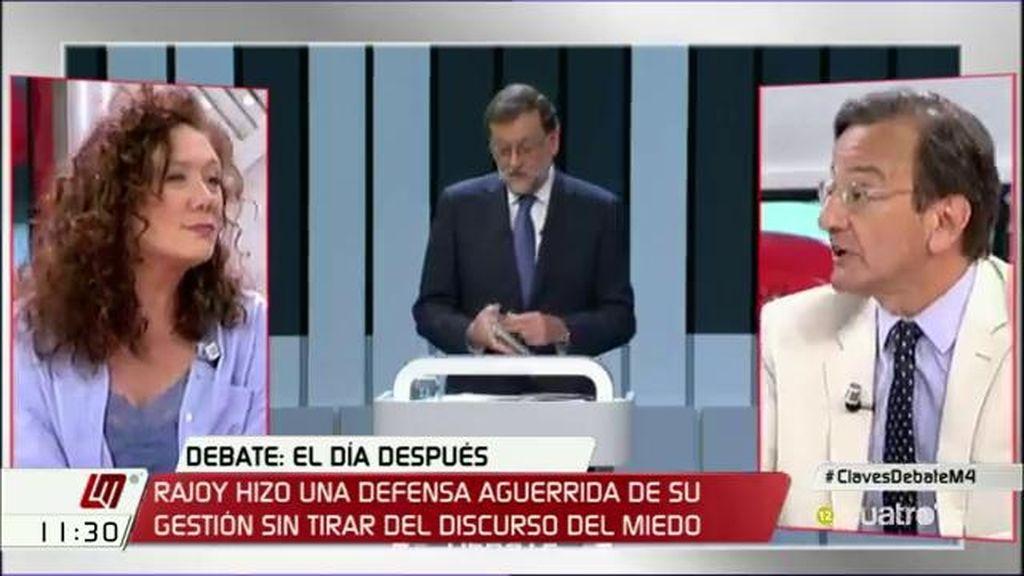 """Fallarás, sobre el debate: """"Rajoy salió de rositas y los españoles perdimos el debate"""""""