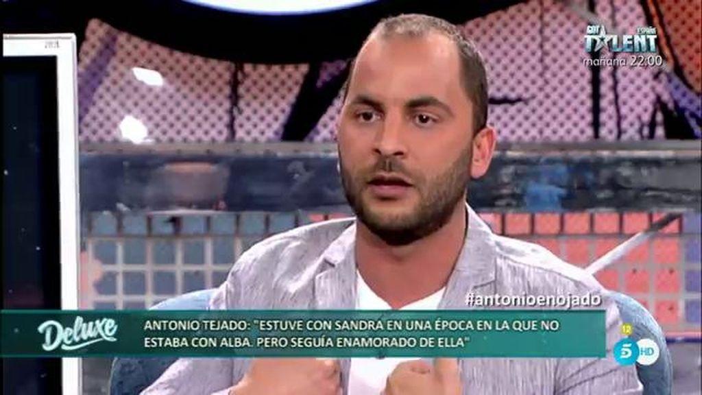 """Antonio, sobre su infidelidad: """"No lo hice bien, admito mi error, hice mucho daño a Alba"""""""