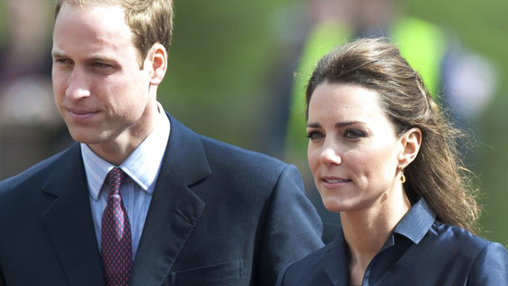 Kate y William en un acto oficial.
