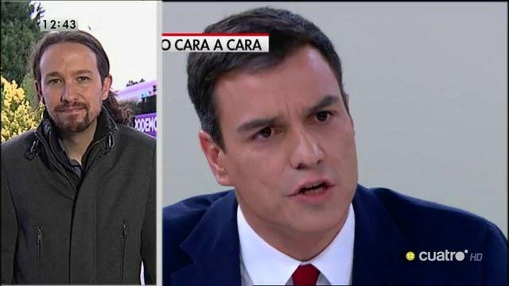 """Iglesias, del cara a cara de Rajoy y Sánchez: """"Creo que ayer vimos un epitafio, algo que ya no tiene que ver con la sociedad"""""""