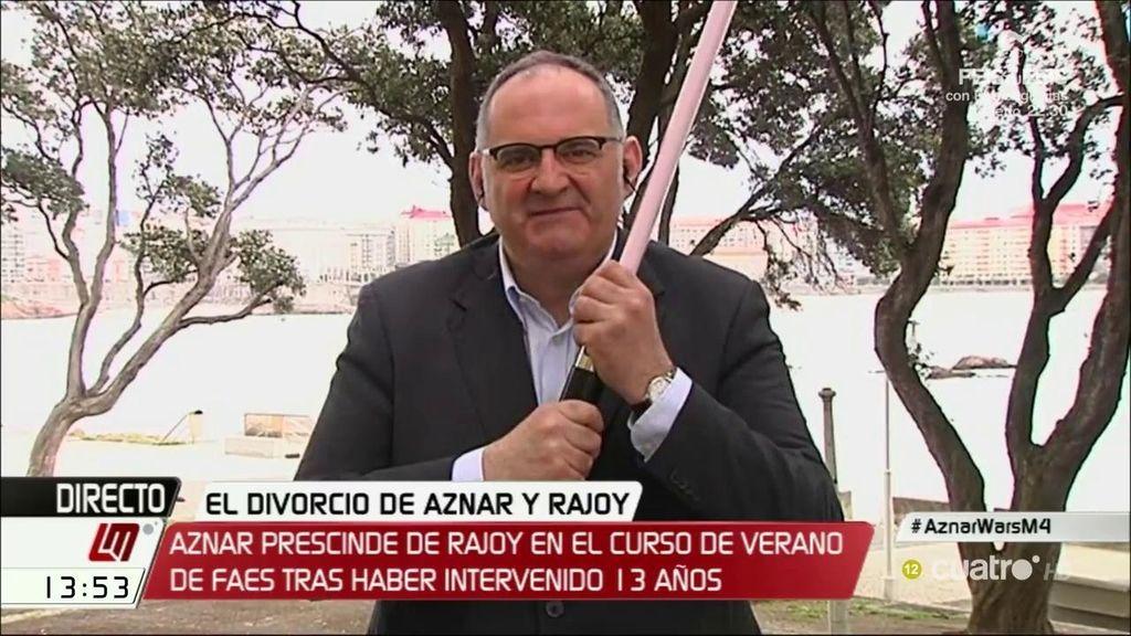 """Antón Losada: """"Esto es una nueva entrega 'Aznar Wars, el aznarismo contraataca"""""""
