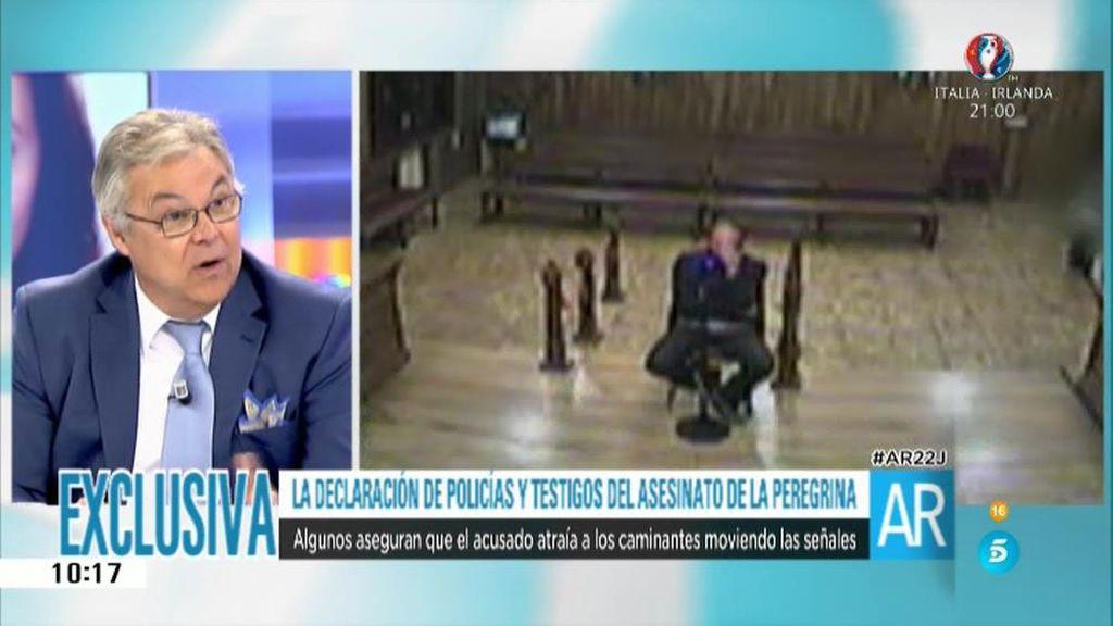 """Vicente Prieto: """"La confesión se produce después de estar a solas con las forenses"""""""
