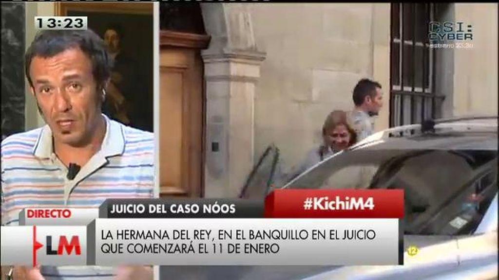 """Kichi: """"La infanta se sienta en el banquillo a pesar del Gobierno"""""""