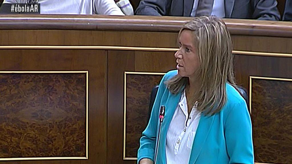 """Ana Mato: """"El Gobierno está actuando con la máxima transparencia"""""""
