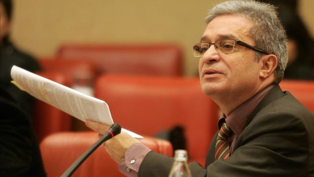 El presidente de ICV y senador por la Entesa, Joan Saura. EFE/Archivo