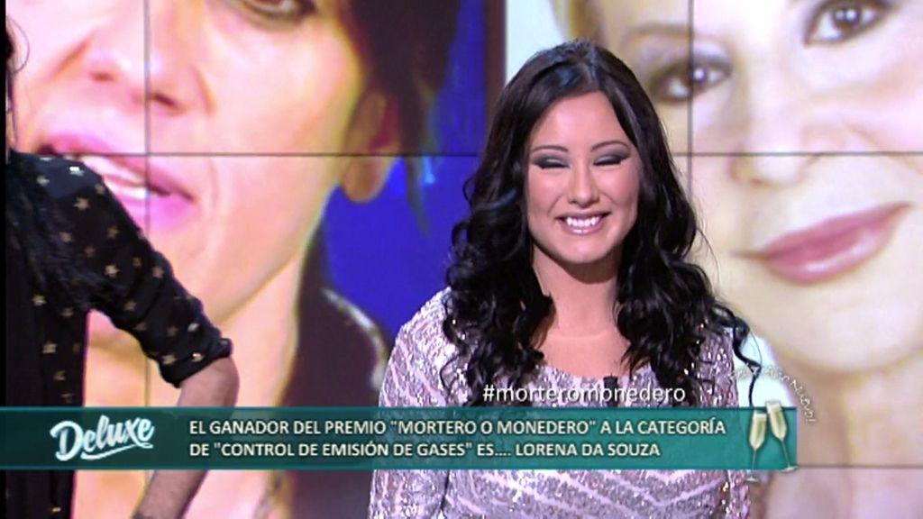 """Premios Mortero o Monedero: Lorena de Souza gana el premio """"Control de gases"""""""