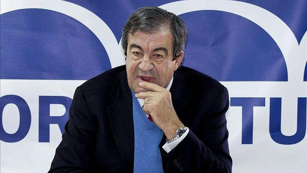 El ex vicepresidente del Gobierno y actual presidente del Foro Asturias Francisco Álvarez-Cascos. EFE/Archivo
