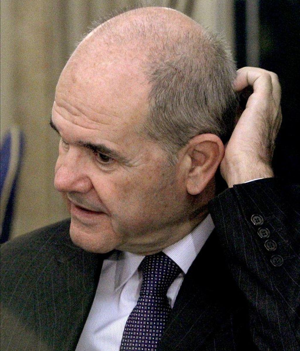 El vicepresidente tercero del Gobierno, Manuel Chaves. EFE/Archivo