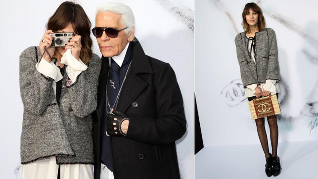 Alexa y su conexión con Chanel