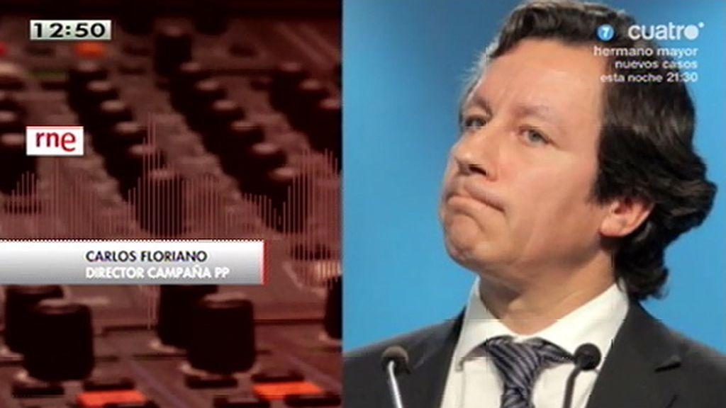 """Carlos Floriano, de Bárcenas: """"Este señor nos engañó"""""""