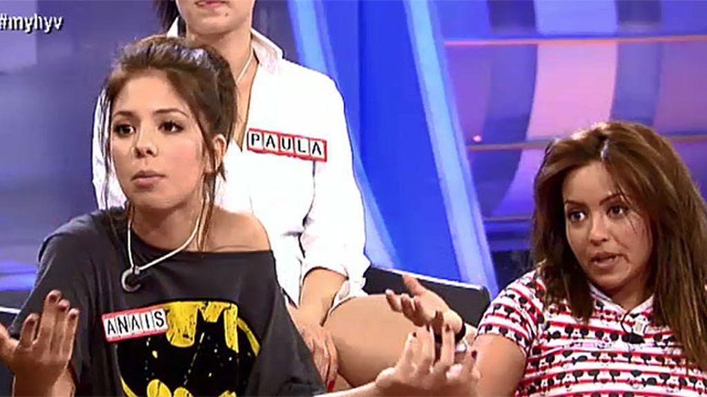 Anais y María, a grito 'pelao' después del programa tras ver la cita con Iván