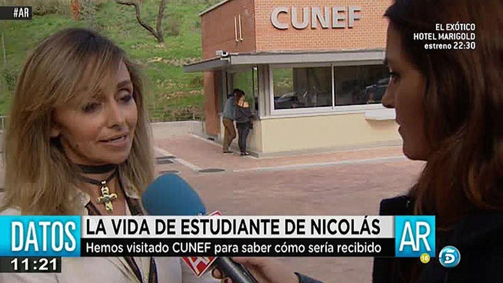"""N. Daño, de Cunef: """"F. Nicolás lleva meses sin venir y tenemos que valorar la situación"""""""