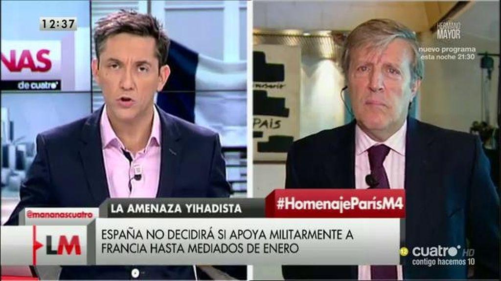 La entrevista a José María Irujo, a la carta