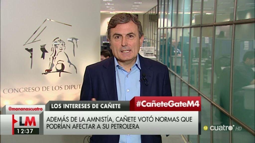 """Saura, de Cañete: """"Tiene que explicarse, pero pensamos que tiene que dimitir"""""""