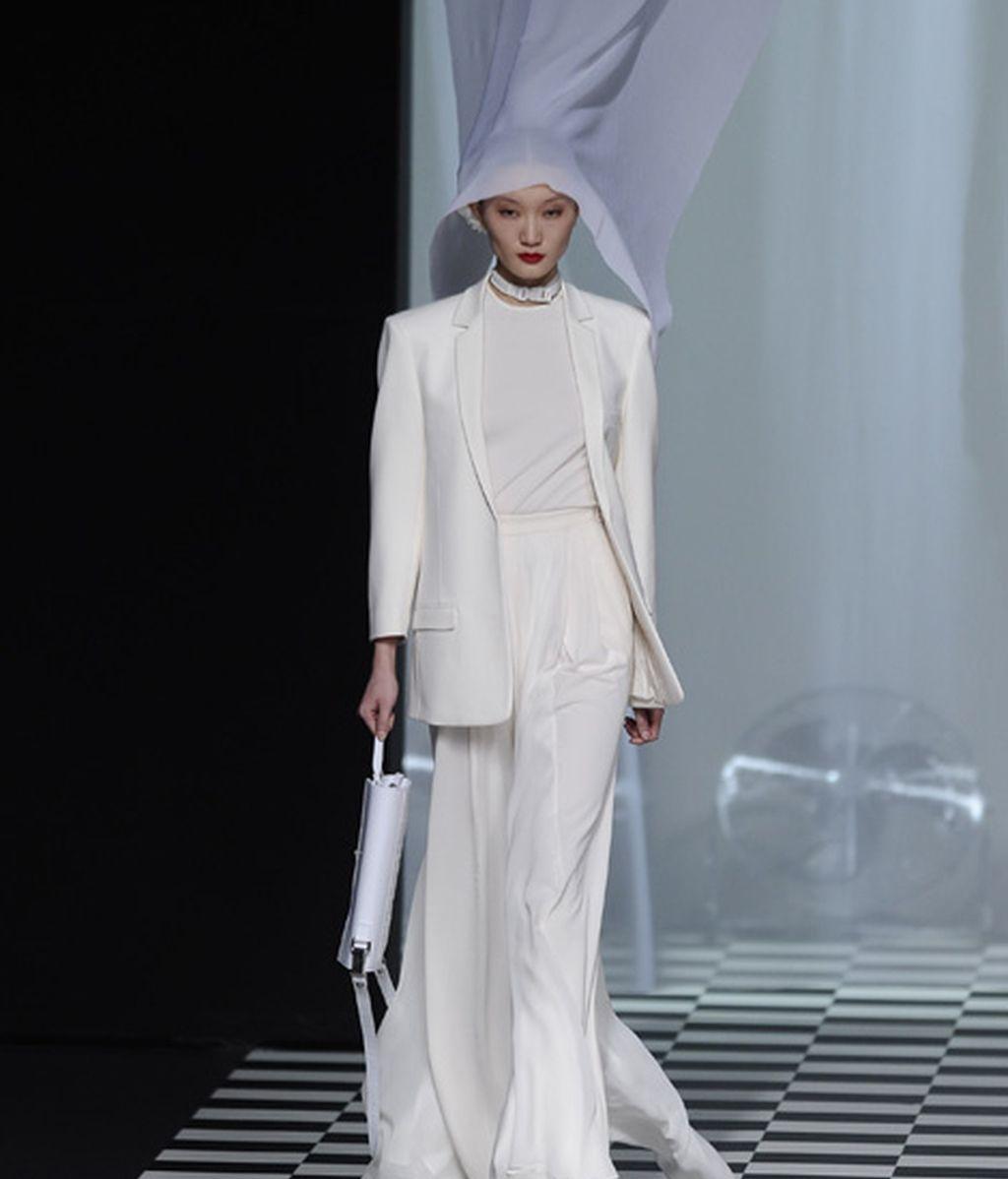 Un sólo color por ética y estética: el blanco