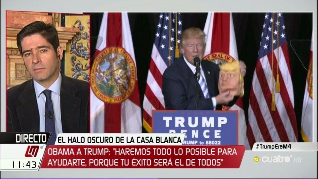 "Francisco Reyero: ""No es lógico pensar que Trump se va a moderar"""