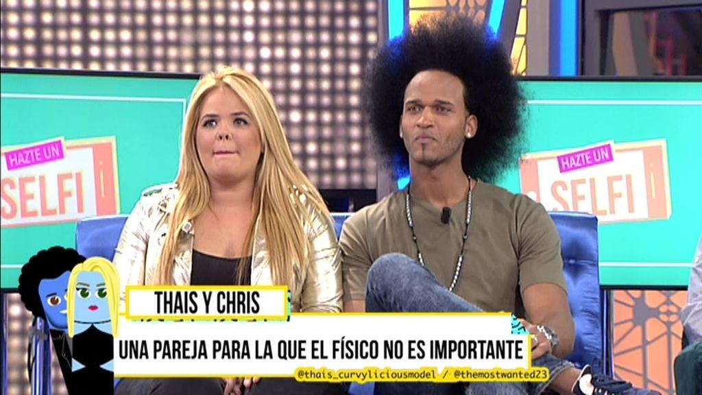 """Chris: """"¿Por qué me gusta Thais? Salta a la vista, es un pibón"""""""