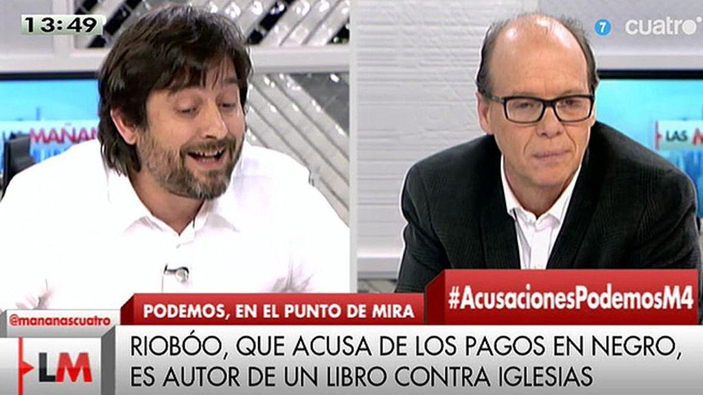 """Rafa Mayoral (Podemos): """"Se han cumplido las obligaciones tributarias"""""""