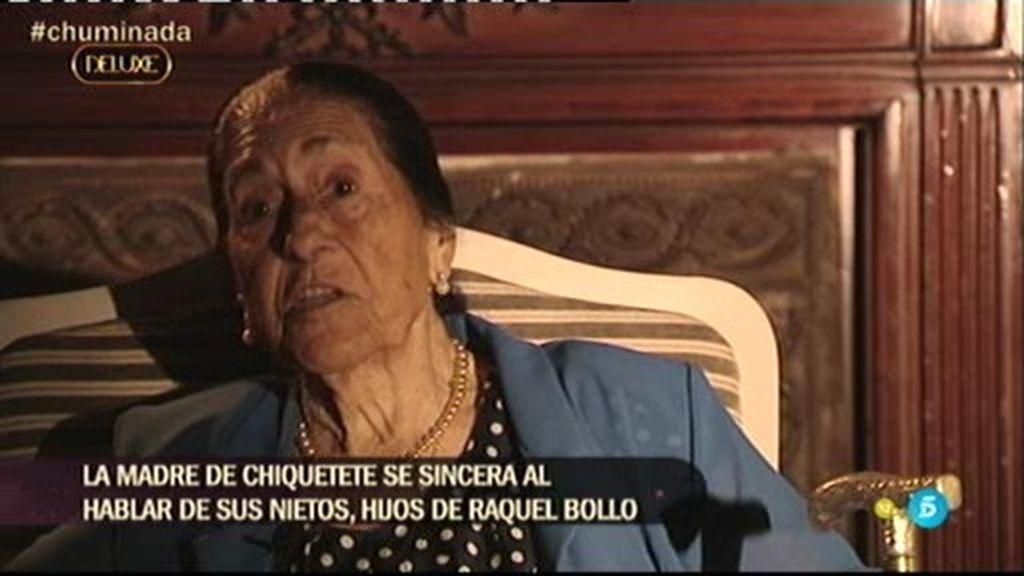 """La 'Chumina', sobre Chiquetete: """"Mi hijo nunca ha abandonado a sus hijos"""""""