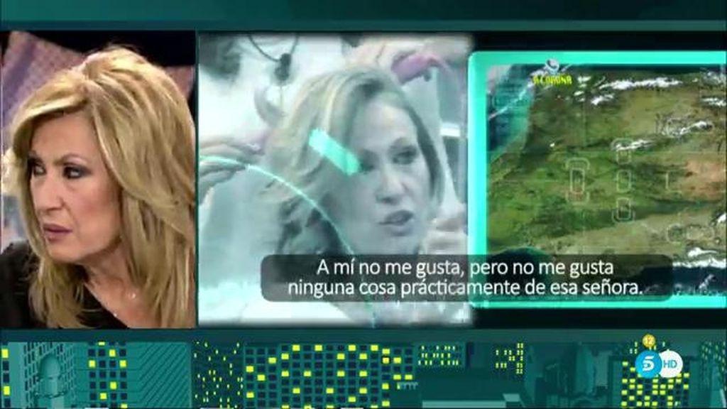 Rosa Benito escucha las críticas de la gente sobre su paso por 'GH VIP'