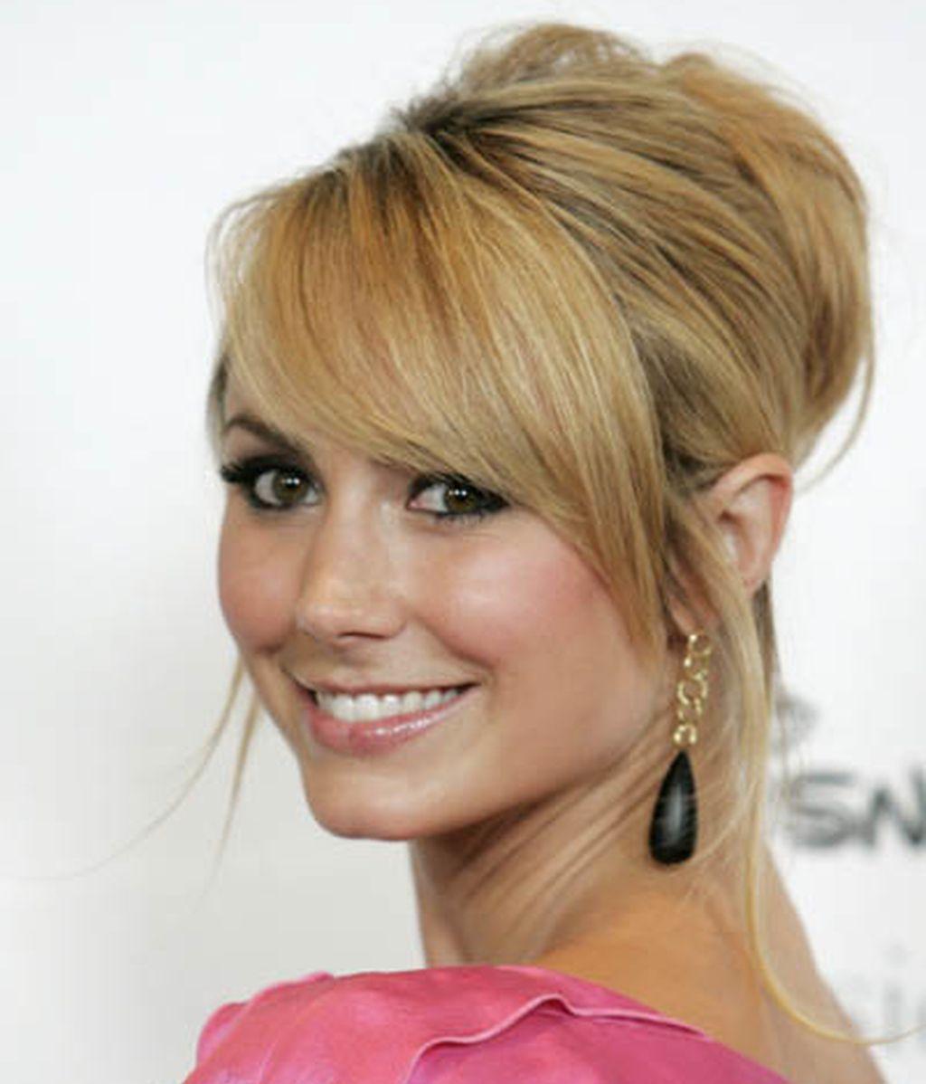 La actriz norteamericana Stacy Keibler