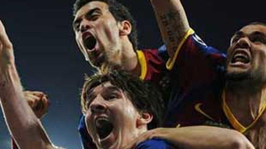 Messi confirmó que es el mejor. Foto: EFE.