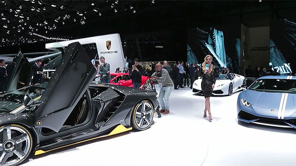Superdeportivos en Ginebra: McLaren, Pagani, Lamborghini