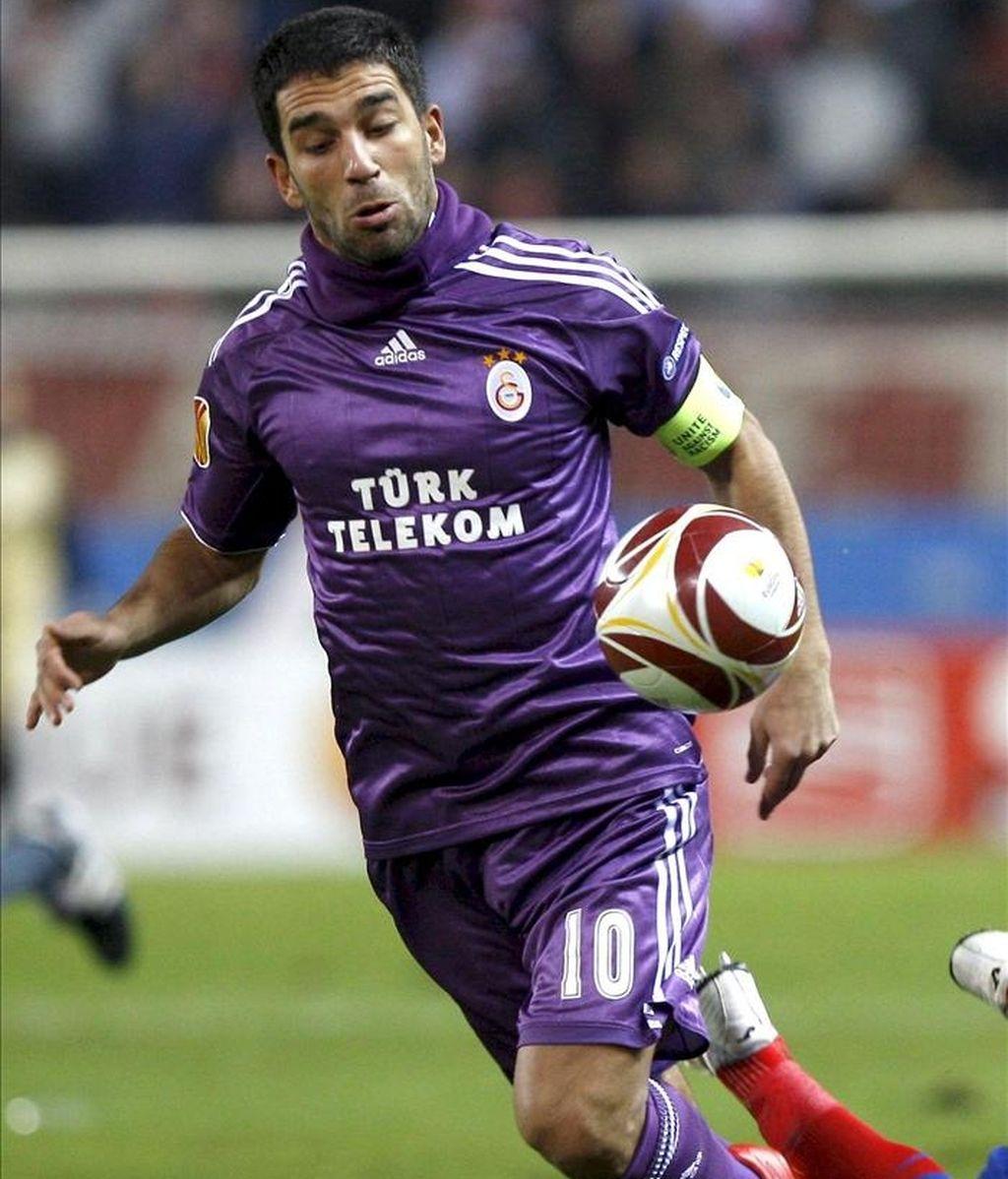 El centrocampista del Galatasaray, Arda Turan. EFE/Archivo