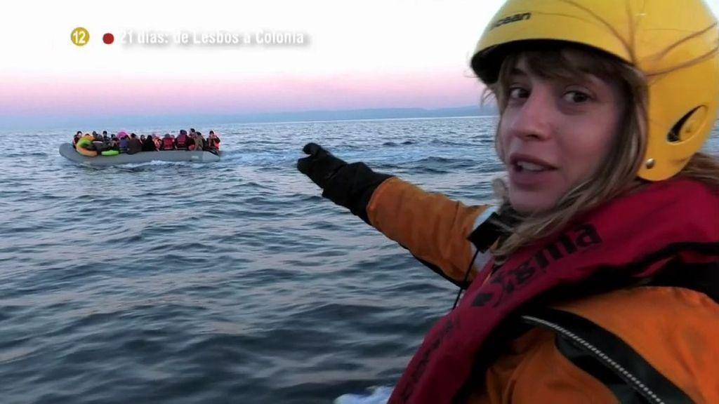 Meritxell Martorell vive la situación de los refugiados durante '21 días'