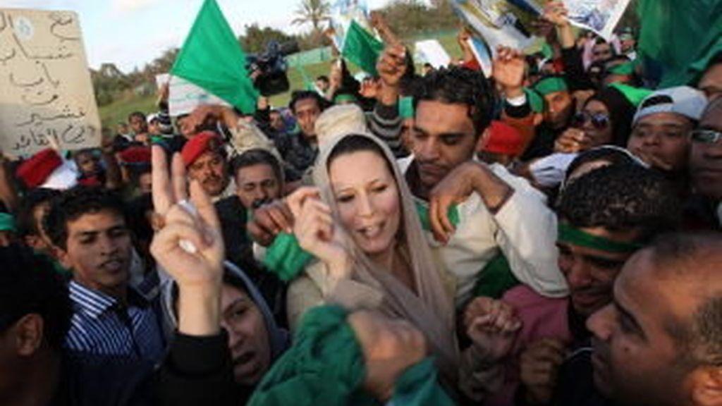 Los familiares de Gadafi buscan una salida. Vídeo: Informativos Telecinco.