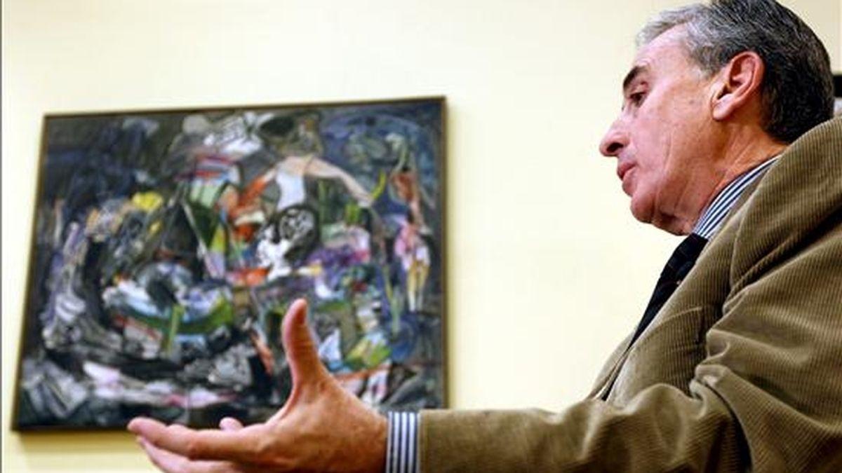 El ministro de la Presidencia, Ramón Jáuregui. EFE/Archivo