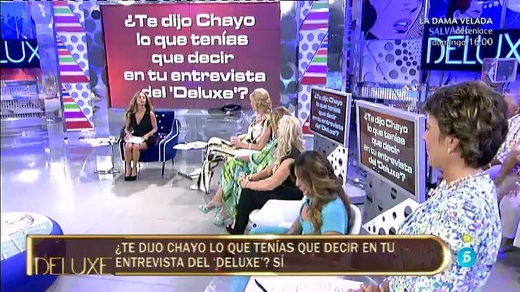 El 'Poli' desvela que… ¡Chayo le dijo a Sandra lo tenía que decir en el 'Deluxe'!